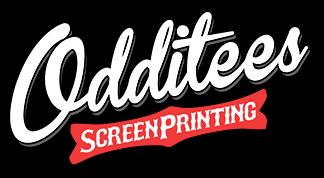 Printing by Oddities Screen Printing based in Atlanta, GA.