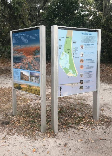 Cumberland Island - Visitor Signs
