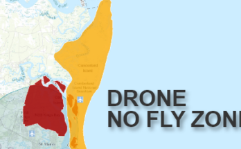 Cumberland Island - Drone No-Fly Zone