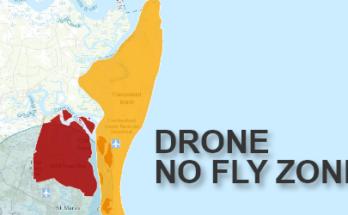 Cumberland Island - Drone No-Fly Zone